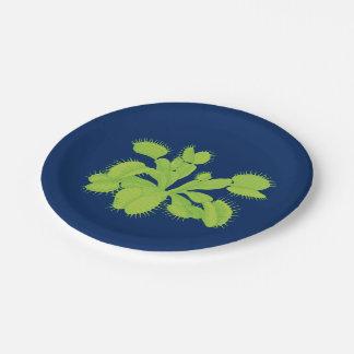 Carnivorous Plant Venus Flytrap Paper Plate
