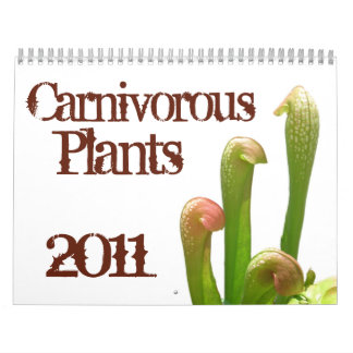 Carnivorous Plants Calendar