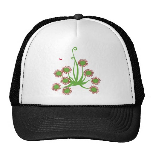 Carnivorous Sundew Plant Trucker Hats