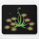 Carnivorous Sundew Plant Mousepads