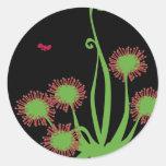 Carnivorous Sundew Plant Sticker