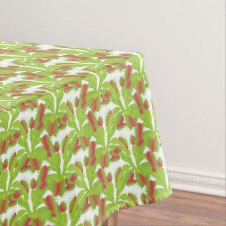 Carnivorous Venus Flytrap Flora Pattern Tablecloth