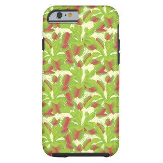 Carnivorous Venus Flytrap Floral Pattern Tough iPhone 6 Case
