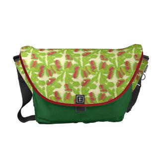 Carnivorous Venus Flytrap Pattern Messenger Bag