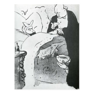 Carnot Malade Cannot Ill, a Song Sung at the Chat Postcard