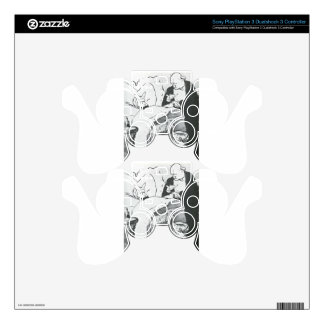 Carnot Malade Cannot Ill, a Song Sung at the Chat PS3 Controller Skin