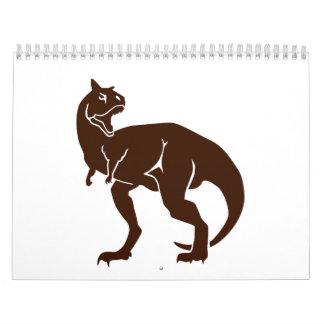 Carnotaurus dinosaur calendar