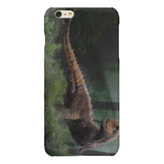 Carnotaurus Dinosaur Cretaceous Period Grass Trees Glossy iPhone 6 Plus Case