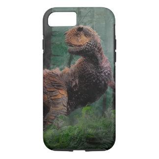 Carnotaurus Dinosaur Cretaceous Period Grass Trees iPhone 7 Case