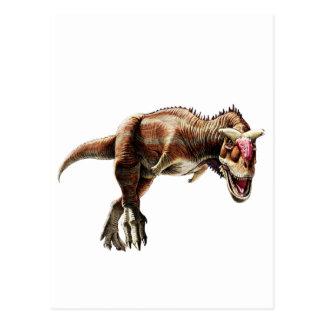 Carnotaurus Gift Awesome Carnivorous Dinosaur Postcard