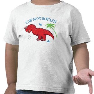 Carnotaurus lindo camiseta