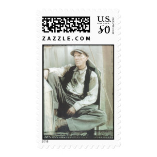 Carny postage stamp