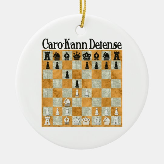 Caro-Kann Defense Ornament