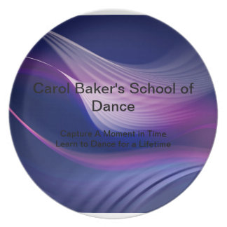 Carol Baker's School of Dance Plate