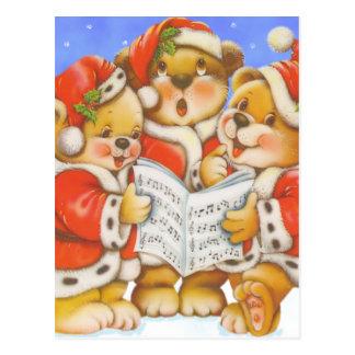 Carol Bears - Postcard