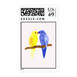 Carol & Carl Canary Stamps