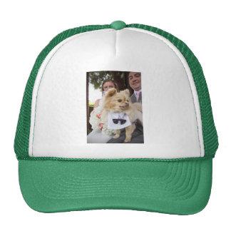 Carol + Christian's Wedding Hat