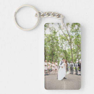 Carol + Christian's Wedding Keychain