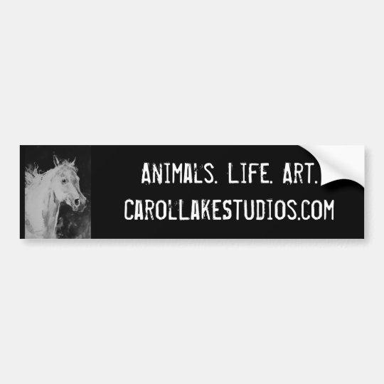 Carol Lake Studios Bumpersticker Bumper Sticker