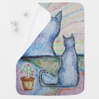 """""""Carol-Lynne's Kitties"""" Baby Blanket"""