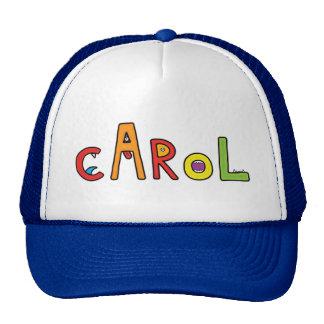 """""""Carol"""" Monster Letters Trucker Hat"""