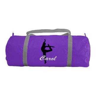 Carol personalized duffle gym bag