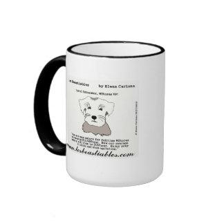 Carol Schnauzer WStores Living Wage mug