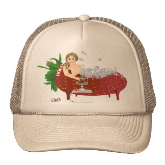 Carola bathing trucker hat