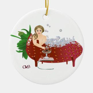 Carola boum ceramic ornament
