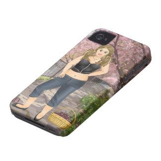 Carola en los Cerezos Case-Mate iPhone 4 Coberturas