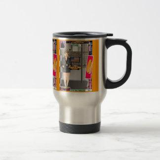 Carola in New York Travel Mug