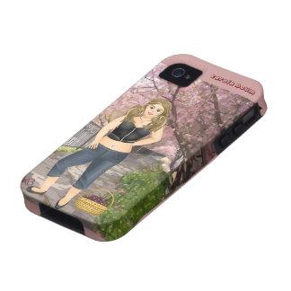 Carola in the Cherry trees iPhone 4/4S Case
