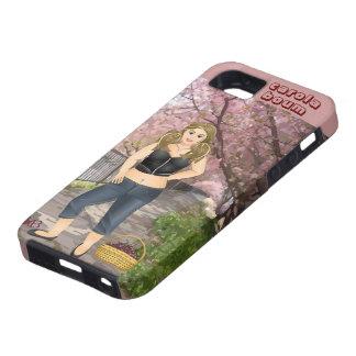Carola in the Cherry trees iPhone SE/5/5s Case