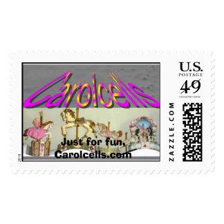 carolcells, Just for fun, Carolcells.com Stamp