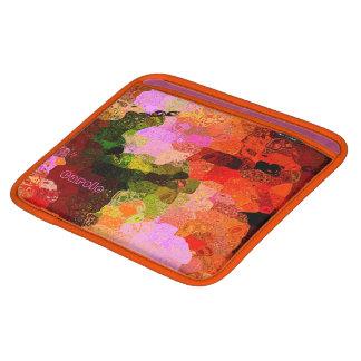 Carole colorful iPad sleeve