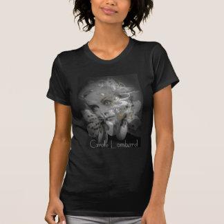 Carole Lombard Tribute Print Tee Shirt