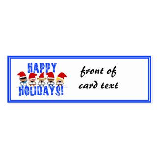 Carolers del navidad del bebé - buenas fiestas