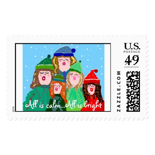 Carolers Stamps