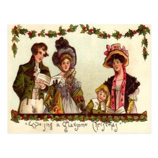 Carolers Postcard