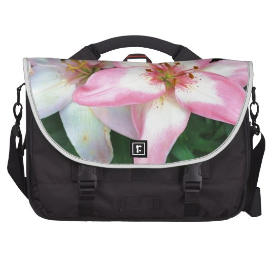 """Carole's Flowers"" collection Laptop Bags"