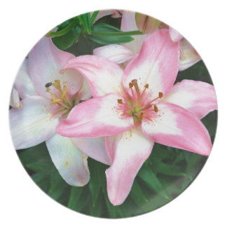 """""""Carole's Flowers"""" collection Plate"""