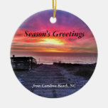 Carolina Beach 2014 Christmas Tree Ornament