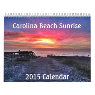 Carolina Beach Sunrise Calendar