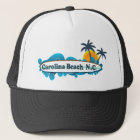 Carolina Beach. Trucker Hat