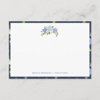 Carolina Bloom Wild Floral Custom Stationary Note Card