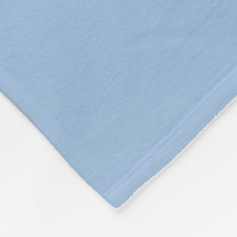 Carolina Blue Fleece Blanket