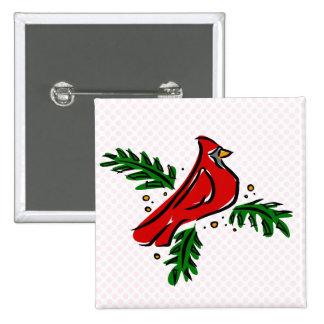 Carolina Cardinal Pinback Button
