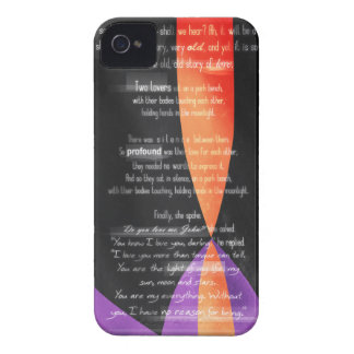 Carolina Crown 2013 - Lovers on a Park Bench Case-Mate iPhone 4 Cases