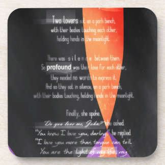 Carolina Crown 2013 - Lovers on a Park Bench Coasters