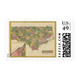 Carolina del Norte 10 Sello